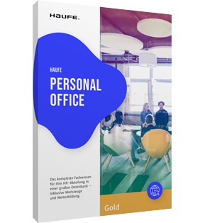 Packshot Haufe Personal Office Gold
